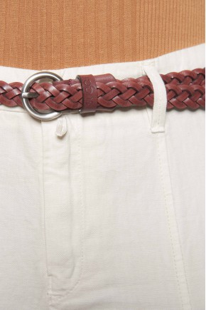 Girdle fine out of genuine leather