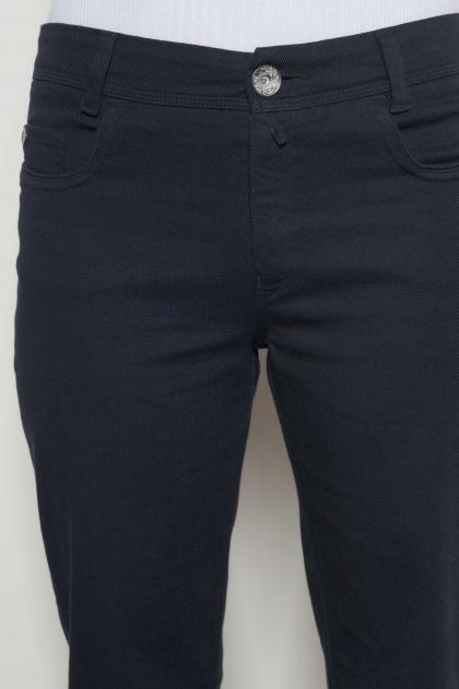 @Pantalon coupe jean en sergé 98% coton 2% elasthanne