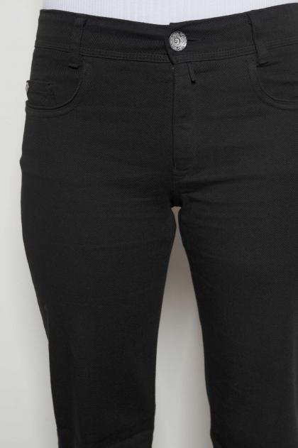 Pantalon coupe jean en sergé 98% coton 2% elasthanne