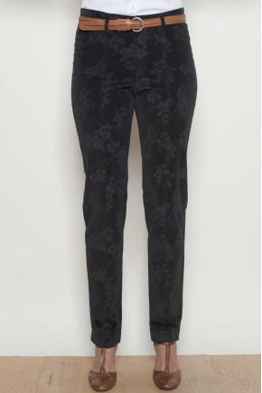 Pantalon à la cheville 98% coton 2% Elasthanne