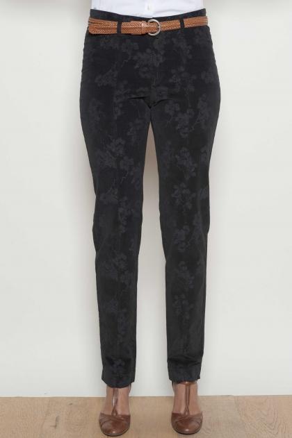 @Pantalon à la cheville 98% coton 2% Elasthanne